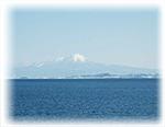 秀峰大山を望む立地