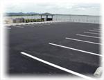 ゆとりの駐車スペース